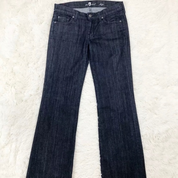 7 For All Mankind Denim - 7 For All Mankind 7FAMK Dojo Dark Jeans  Size 29